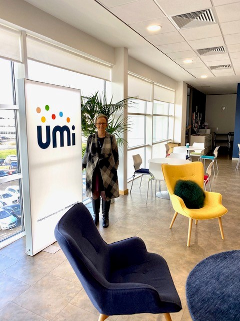 Inside Umi's bright and exciting offices