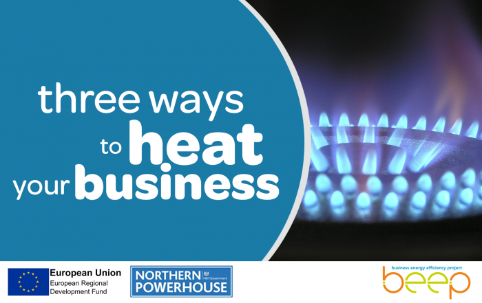 Three Different Ways to Heat your Business