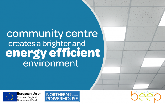 Community Centre creates a brighter and energy efficient environment with help from BEEP